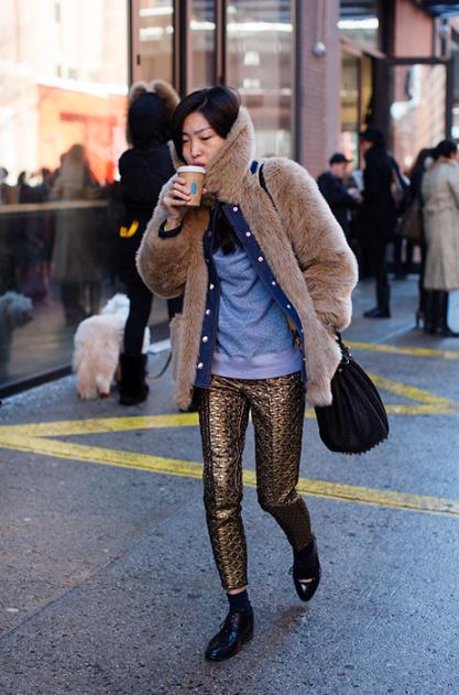 Street Style NYFW Fall 12
