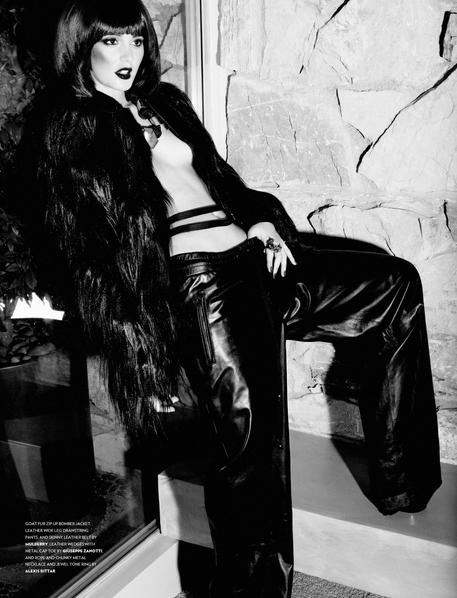 Leighton Meester Flaunt Magazine